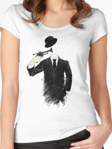 Blown Women's Fitted Scoop T-Shirt