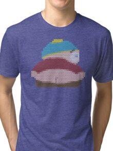 knitted cartman butt Tri-blend T-Shirt
