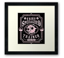 Fairy Specialized Trainer Framed Print