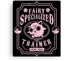 Fairy Specialized Trainer Canvas Print