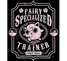Fairy Specialized Trainer Photographic Print