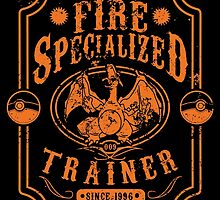 Fire Specialized Trainer II by tiranocyrus