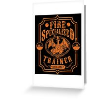 Fire Specialized Trainer II Greeting Card