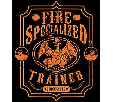 Fire Specialized Trainer II Photographic Print