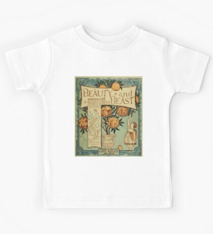 Beauty and the Beast by Walter Crane 1875 1 - Cover Kids Tee