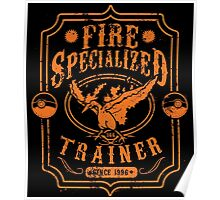 Fire Specialized Trainer Poster