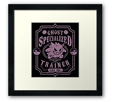 Ghost Specialized Trainer Framed Print