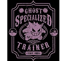 Ghost Specialized Trainer Photographic Print