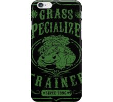 Grass Specialized Trainer iPhone Case/Skin