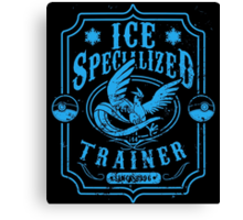 Ice Specialized Trainer Canvas Print