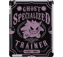 Ghost Specialized Trainer iPad Case/Skin
