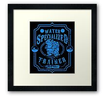 Water Specialized Trainer Framed Print