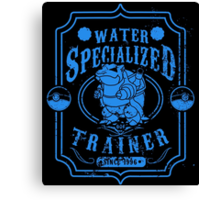 Water Specialized Trainer Canvas Print