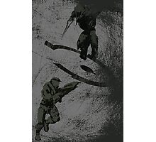 Running Riot - Halo Photographic Print