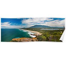 Holiday Paradise at Dunbogan Beach Poster