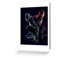 Spider-Man 3 Poster Greeting Card