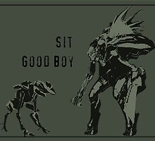 Sit.  Good Boy.  |  Halo by CanisPicta