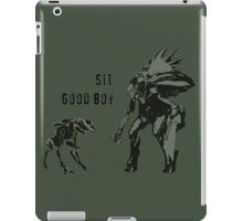 Sit.  Good Boy.  |  Halo iPad Case/Skin