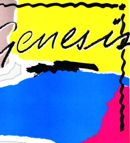 Genesis - Abacab Sticker