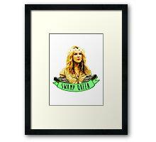 Swamp Queen  Framed Print