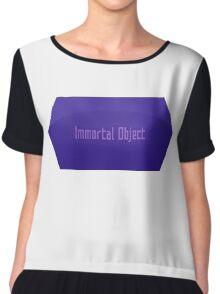 Immortal Object Chiffon Top