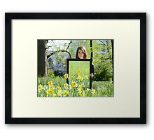 Daffodil Reflections - Spring 2014 NZ Framed Print