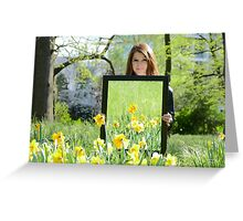 Daffodil Reflections - Spring 2014 NZ Greeting Card