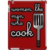 MEN who COOK iPad Case/Skin
