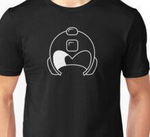 Megam Helmet White Unisex T-Shirt