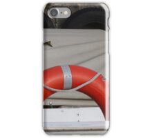 Boat with buoy iPhone Case/Skin