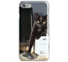Playing Cat And Mouse - NZ iPhone Case/Skin