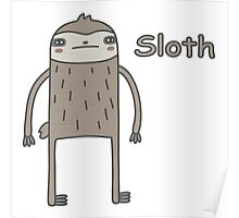 Lazy Sloth Poster