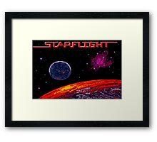 Starflight (Genesis Title Screen) Framed Print
