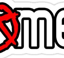 ANARCHY- GAMER Sticker