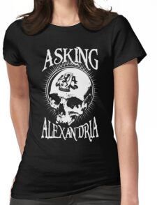 Asking Alexandria Skull  tshirt and hoodie Womens Fitted T-Shirt