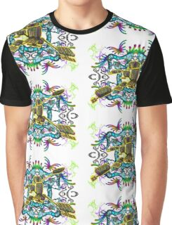 Experimental Graphic T-Shirt