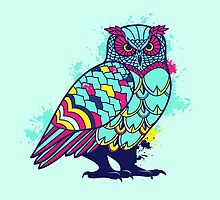Geometric Owl  by hocapontas