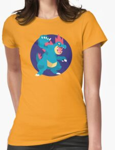 Feraligatr - 2nd Gen Womens Fitted T-Shirt