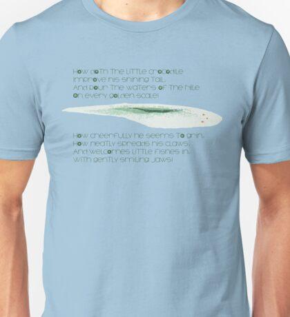 How Doth the Croc Unisex T-Shirt