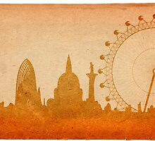 London skyline by siloto