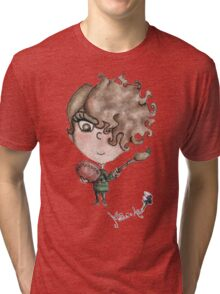 Eyeshadow Art - Line Matita's Art Tri-blend T-Shirt