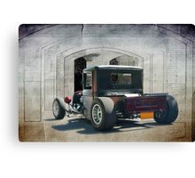 Rat Rod Rear End Canvas Print