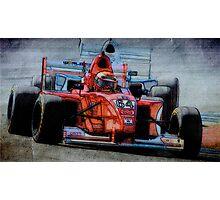 Formula Atlantic No. 64 Photographic Print
