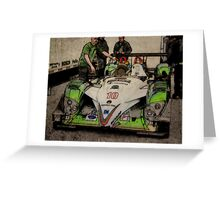 American LeMans 2008a Greeting Card