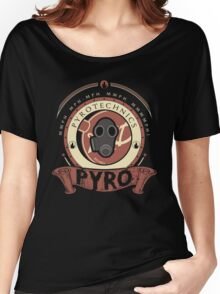 Pyro - Red Team Women's Relaxed Fit T-Shirt