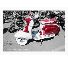 Lambretta Photographic Print