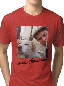 Big Mac with a dog  Tri-blend T-Shirt