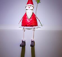 Father Christmas Ornament by Sue Martin
