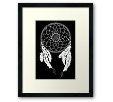 Dreamcatcher - Black Framed Print