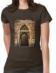 Doors of the World Series #6 Womens Fitted T-Shirt